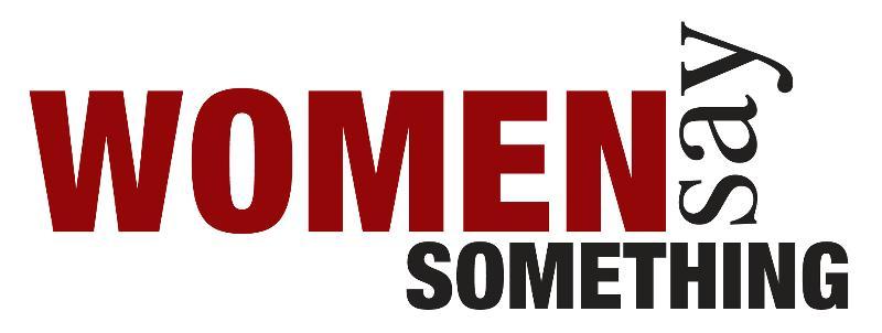 Women Say Something logo