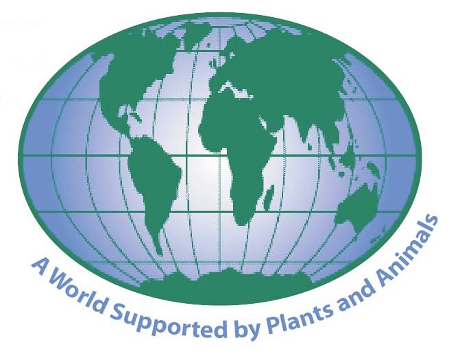 world supported by plants and animals