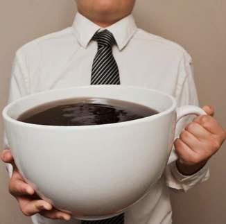 coffee, big cup, precisionnutrition.com