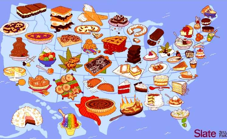sweets map of usa, wsfl.com