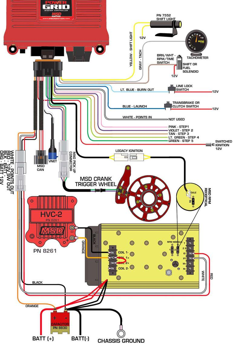Msd Grid Wiring Diagram MSD Grid Cable Wiring Diagram ODICIS