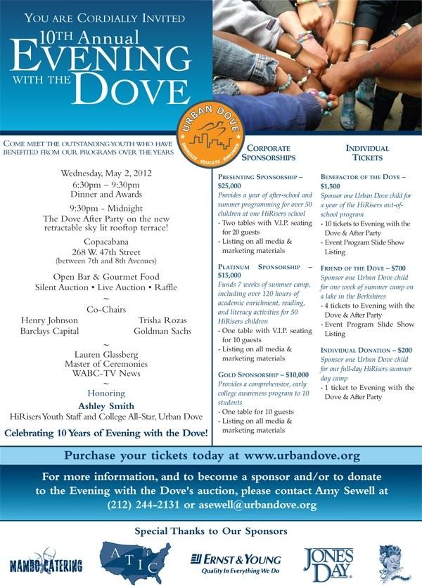 Evening with the Dove Digital Invite