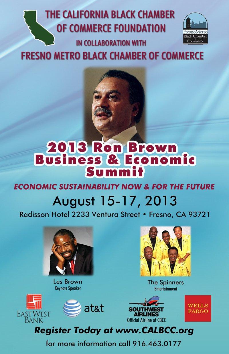 Ron Brown Economic Summit 2013_ Fresno Flyer