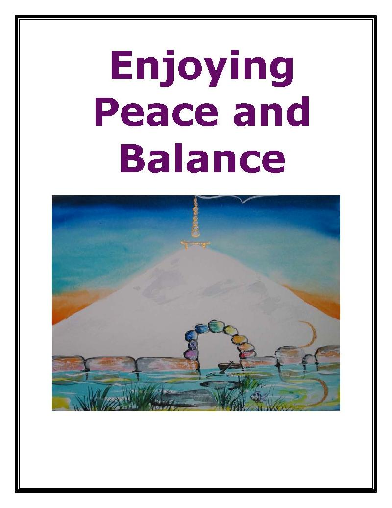 Enjoying Peace and Balance E-book
