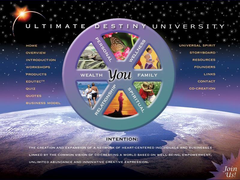 Ultimate Destiny Network Logo