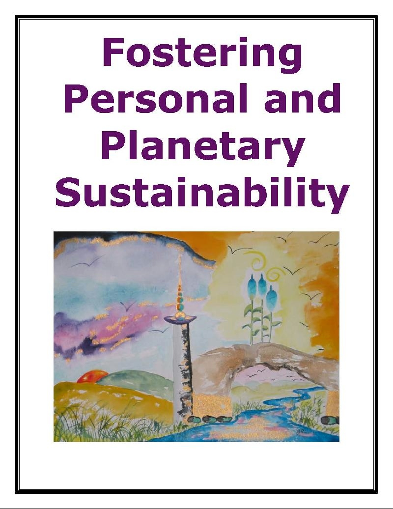 Fostering Personal and Planetary Sustainability E-book