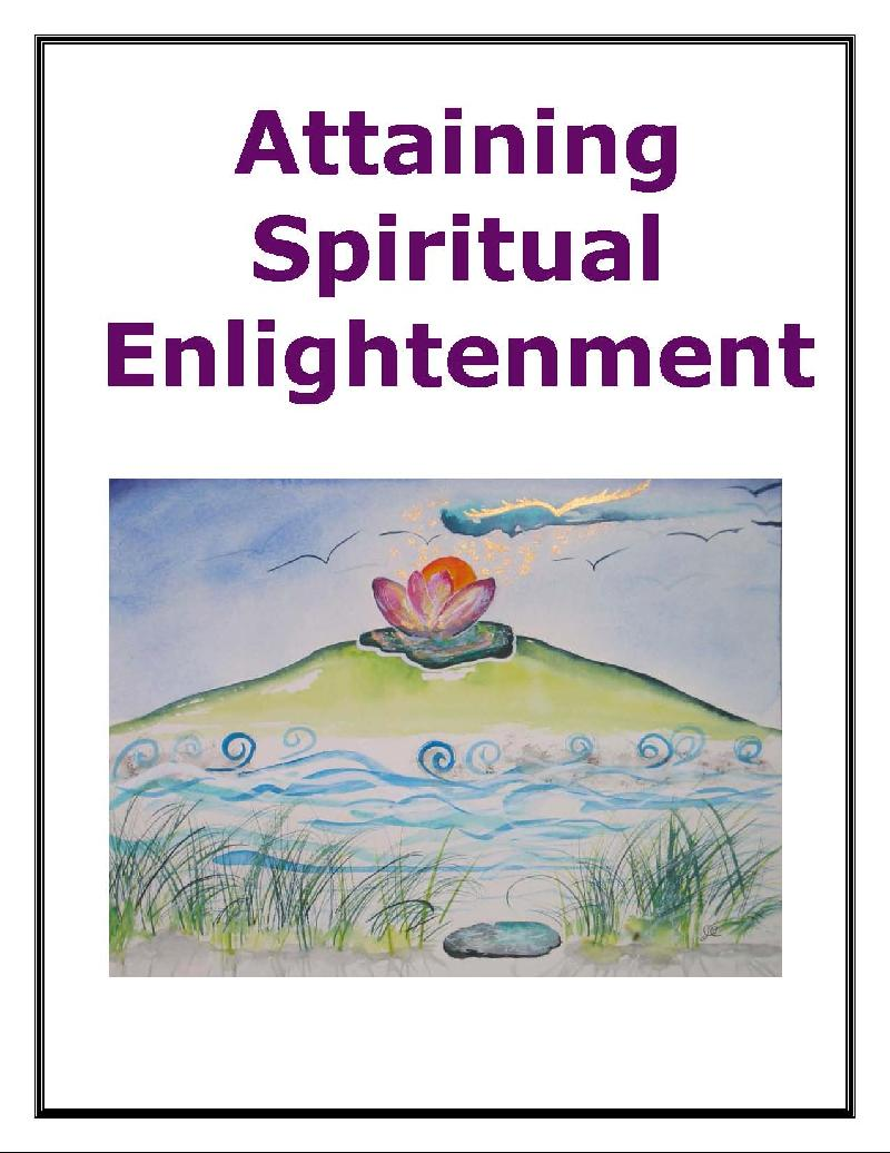 Attaining Spiritual Enlightenment E-book