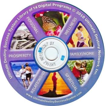 CDROM of 14 E-books in the Ultimate Destiny Success System