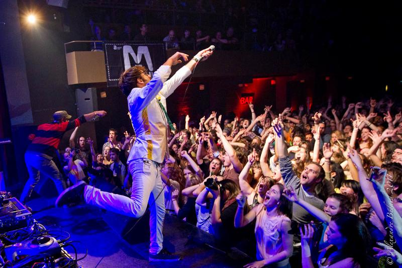 Misteur Valaire au Club Soda le 18 novembre 2011