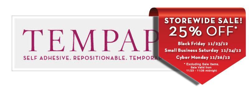 Tempaper Logo Black Friday