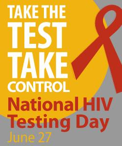 Nat'l HIV testing day logo
