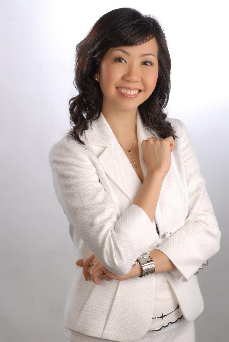 Karen leong white