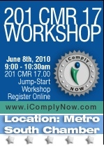 iComply June 8, 2010 Workshop