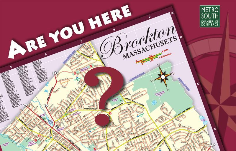 Brockton map