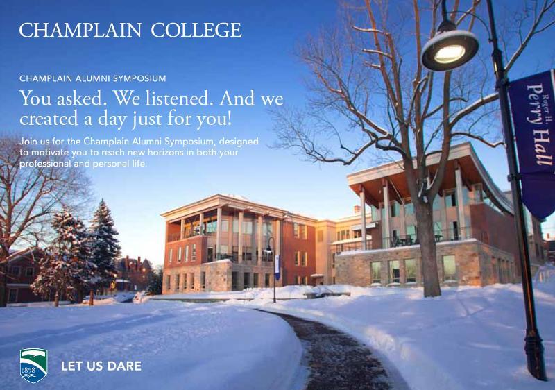 Champlain Alumni Symposium