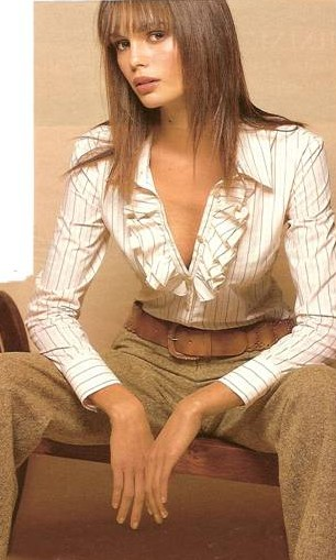 linen blouse and pants