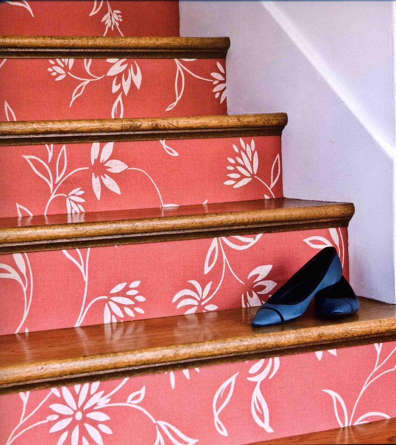 Wallpaper Stairs: Bedeckers Fabulous Interiors April