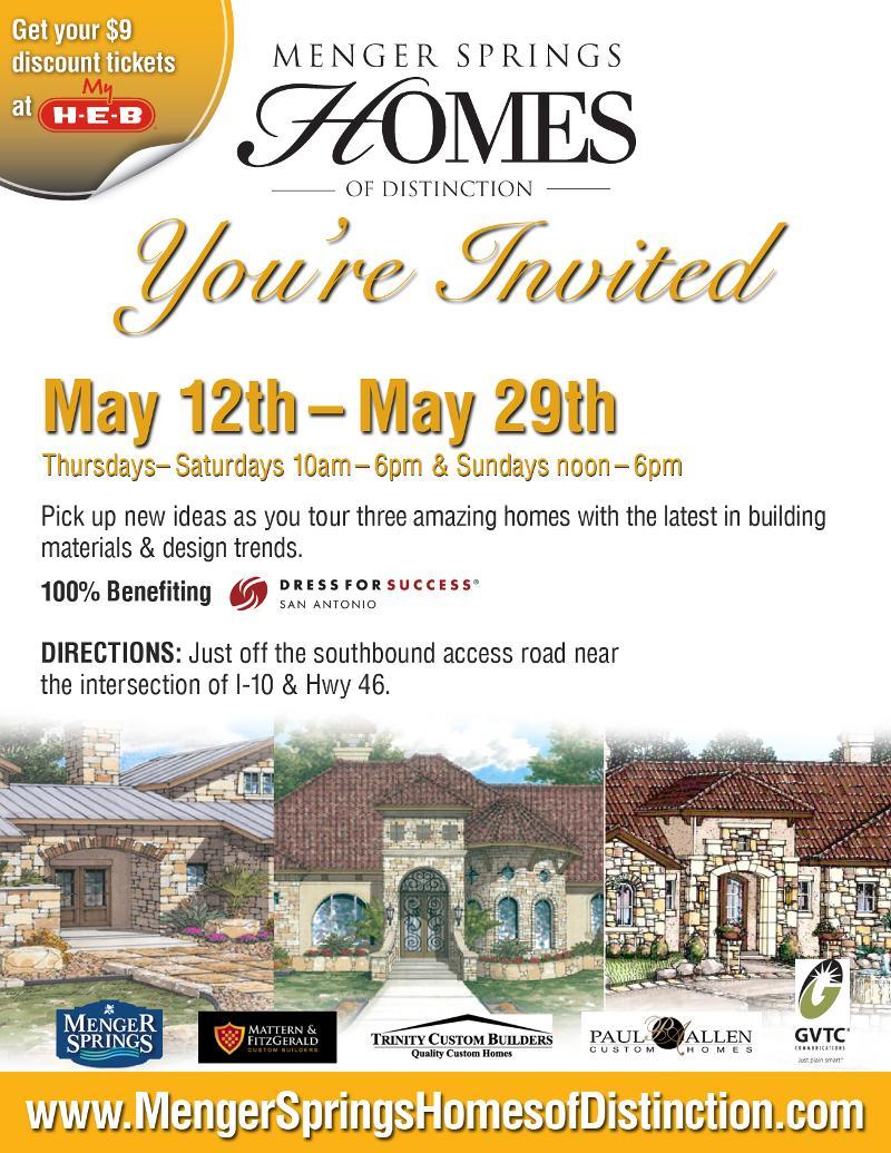 Menger Springs Homes