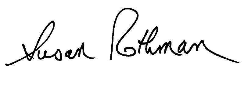 Susan's Signature