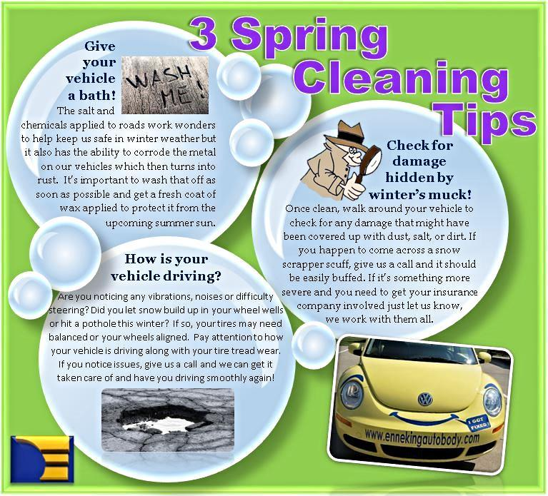 3 Spring Cleaning Tips