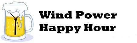 Wind Power Happy Hour Logo