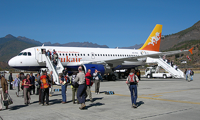 Bhutan Druk Air Flights