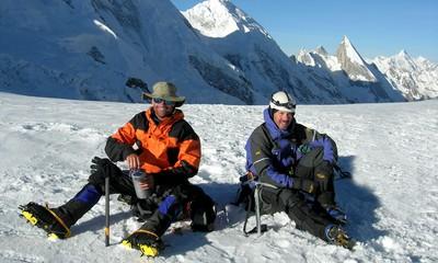 Trekking in the Karakoram Mountains of Pakistan