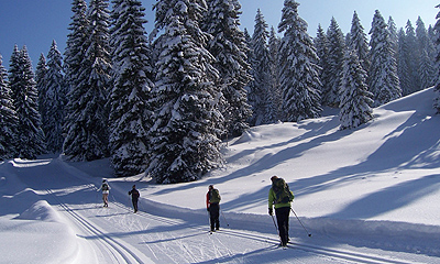 Grand Traverse of the Jura Ski Touring