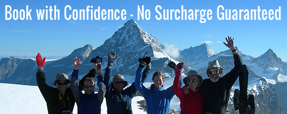 Book with Confidence - No Surcharge Guaranteed
