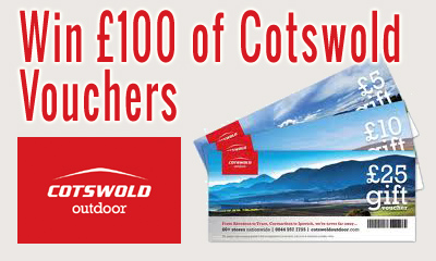 Send us your blog and win �100 Cotswold Vouchers