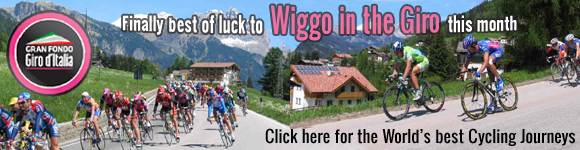 Giro D'Italia and worldwide cycling holidays with KE