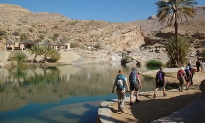 Trekking in Oman