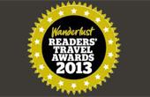 Vote for KE in the Wanderlust Awards 2013