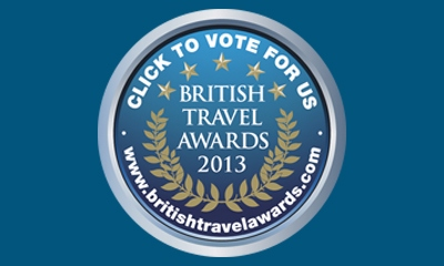 Vote for KE in the British Travel Awards