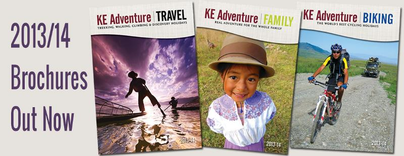 KE Adventure Brochures 2013/14 out now