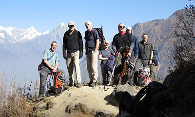 Trekking holidays in Nepal