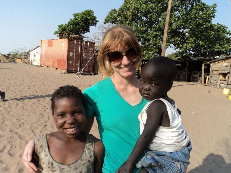 Amanda's trip to Africa