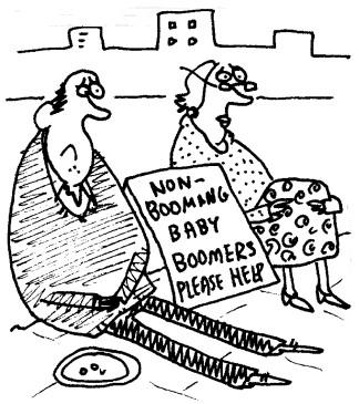 Baby Boomer Cartoon