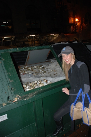 Oyster Riot Dumpster