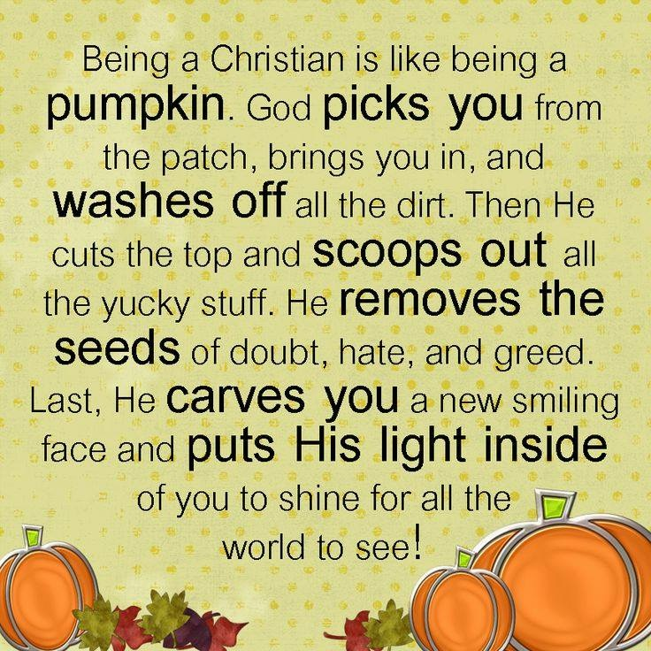 Pumpkin Patch Message