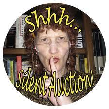 Silent Auction Lady