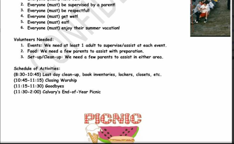 End of Year Picnic page2