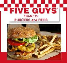 Five Guys - Dining for Dollars