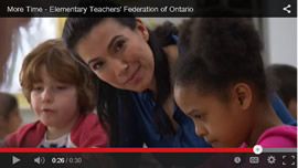 More Time - ETFO TV commercial