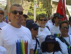 President Hammond at Pride 2011