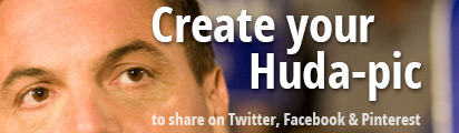 Create your Huda-pic to share on social media