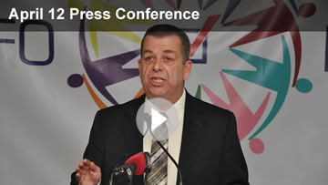 View the Press Conference with President Sam Hammond