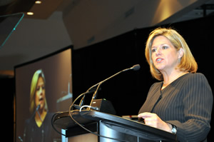 Andrea Horwath at Annual Meeting 2012
