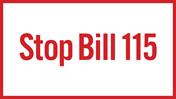 Stop Bill 115