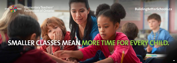 Smaller classes mean more time for every child.